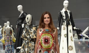 Livia Firth at the Eco-Age Commonwealth Fashion Exchange