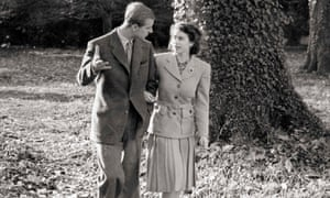 Princess Elizabeth and the Duke of Edinburgh on their honeymoon.