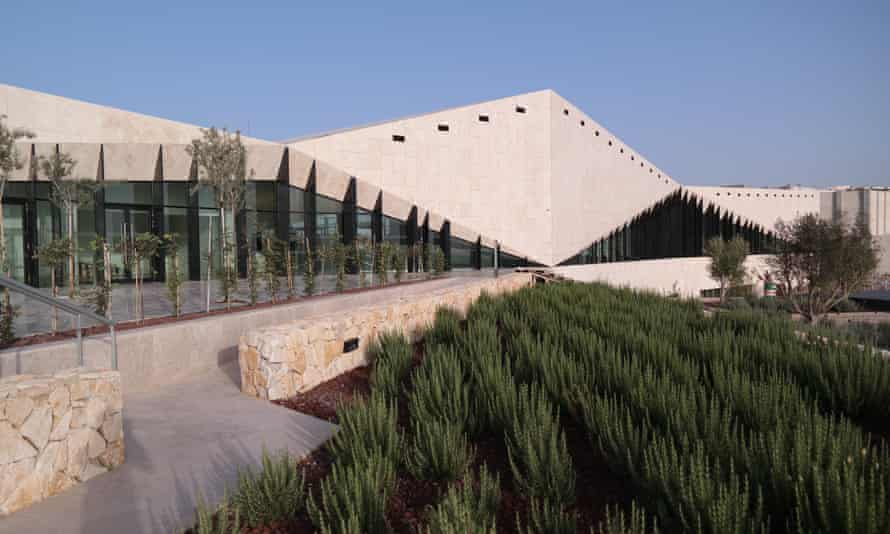 At once defensive and welcoming … the Palestine Museum in Ramallah.