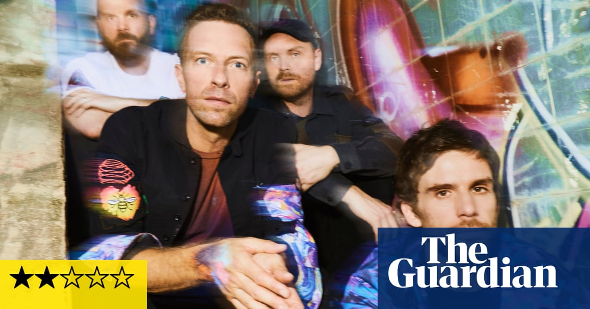 Coldplay: Music of the Spheres review – slipping status prompts a desperate pop pivot
