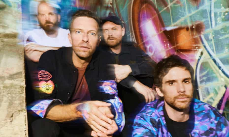 'So eager to please that it becomes off-putting' … Coldplay (L-R) Will Champion, Chris Martin, Jonny Buckland, Guy Berryman.