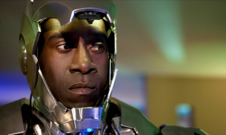 Don Cheadle as Col James 'Rhodey' Rhodes: a different kind of power