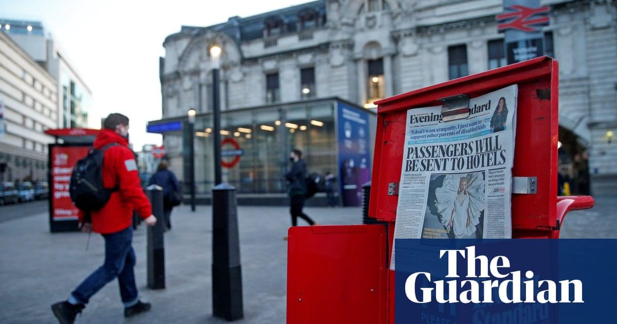 Evening Standard reports £17m loss as Covid hits London commuting