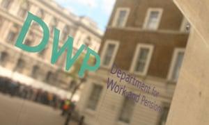 DWP brass plate