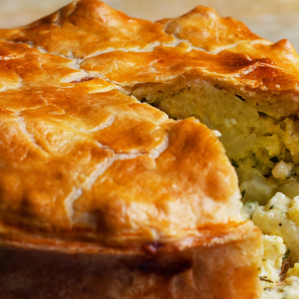 Nigel Slater S Pie Recipes Classic Chicken And Leek And Cauliflower Cheese Food The Guardian