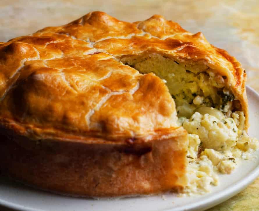 The upper crust: cauliflower cheese pie.