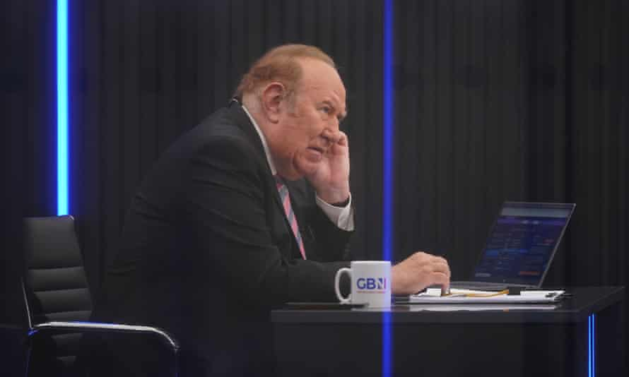 Andrew Neil at the launch event for GB News in Paddington, London, June 2021