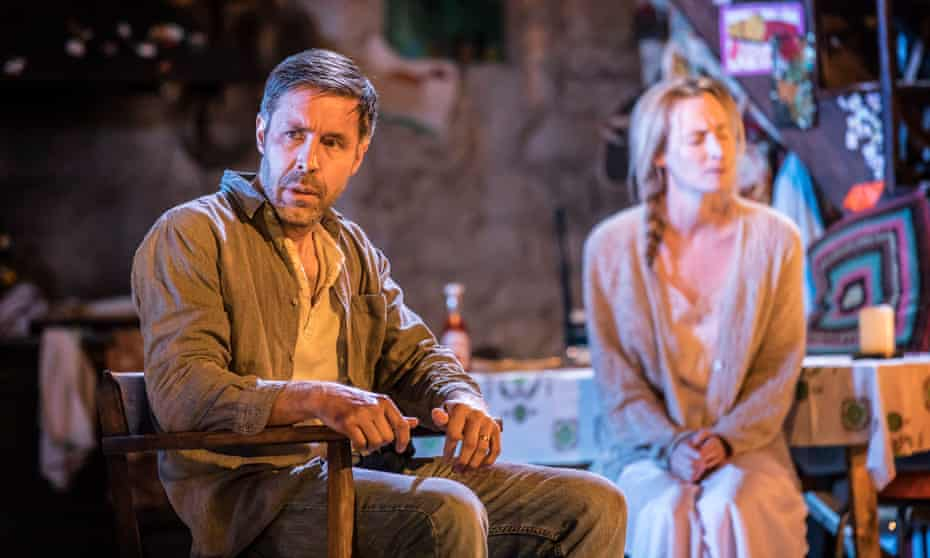 Paddy Considine as Quinn Carney and Genevieve O'Reilly as Mary Carney in Jez Butterworth's acclaimed play The Ferryman.