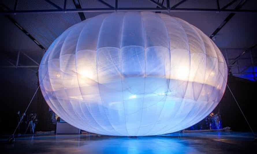 The dozens of balloons needed to provide coverage for each area are coordinated and tracked via mission control.