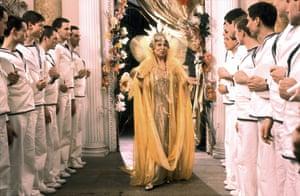 Elisabeth Welch in Derek Jarman's the Tempest.