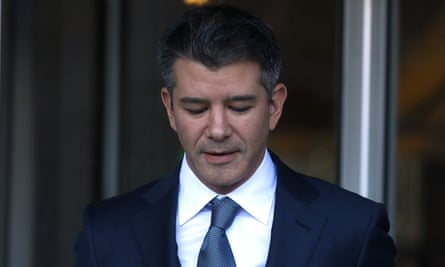 Travis Kalanick said Uber's relationship with Google was brotherly.