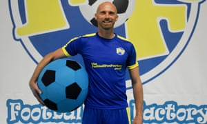 Luke Chadwick is now the Football Fun Factory head coach for the Hertfordshire region.