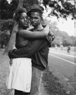 A Couple in Prospect Park, Brooklyn, NY, 1990