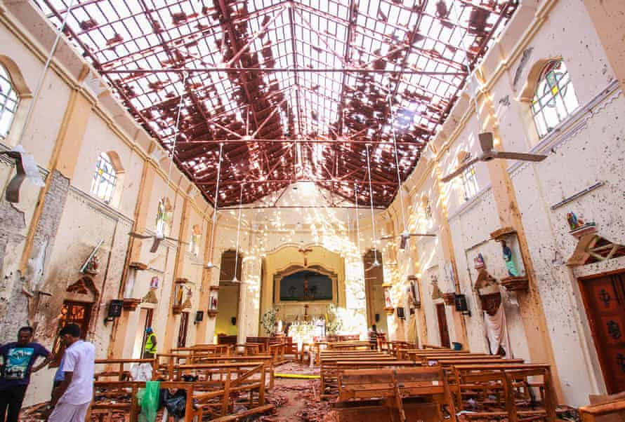 St Sebastian's church in Negombo