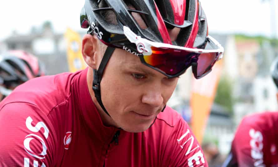 Chris Froome says he has no recollection of his Dauphiné crash.