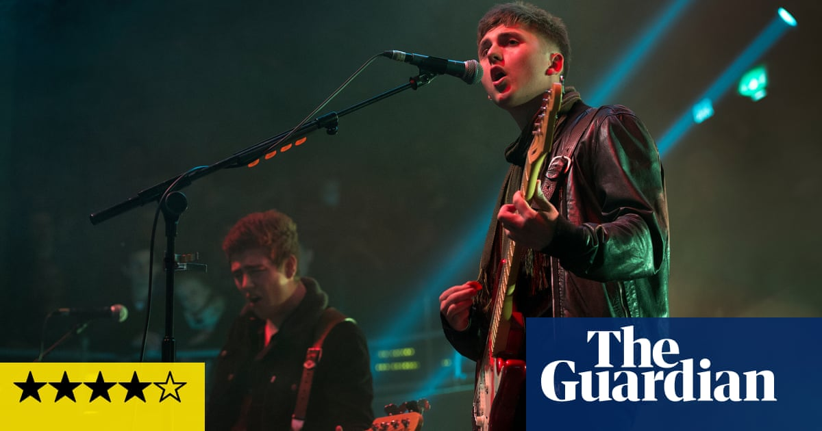 The Sherlocks review – elementary indie-rockers get the