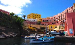 The Italian island of Ventotene