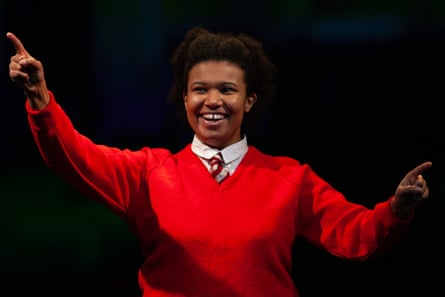 Performer and co-writer Anne Odeke.