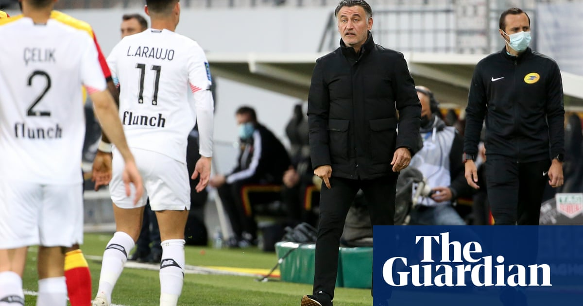 Ligue 1 title for Lille would be miracle of Christophe Galtier's coaching