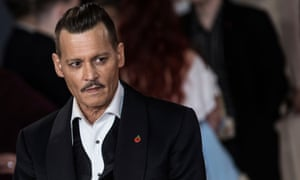 Johnny Depp in November 2017. With each new controversy, will audiences still turn up to watch him?