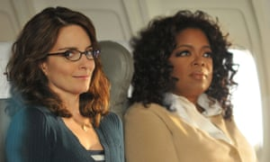 Giving women permission to fail … Tina Fey as Liz Lemon in 30 Rock, with Oprah Winfrey.
