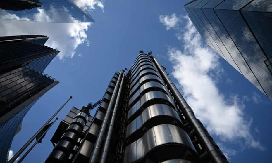 The Lloyd's of London building
