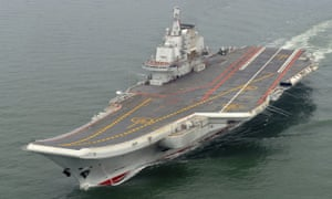 China's Liaoning aircraft carrier is at the centre of the country's first live-fire exercises of their kind.