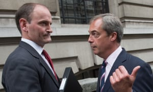 Nigel Farage with Douglas Carswell after the Conservative MP defected to Ukip.