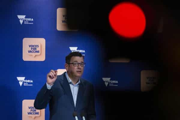 The Victorian premier, Daniel Andrews, has formally abandoned hopes of getting to zero daily Covid cases.