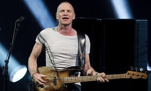 Sting … Listening and liking.