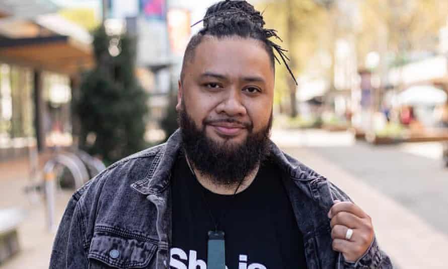Christchurch barber Matt Brown in New Zealand