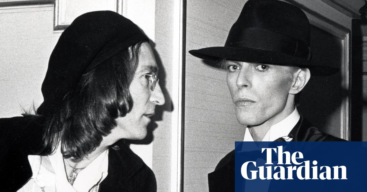 David was terrified: the inside story of how Bowie and Lennon met