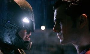 Ben Affleck and Henry Cavill in Batman v Superman.