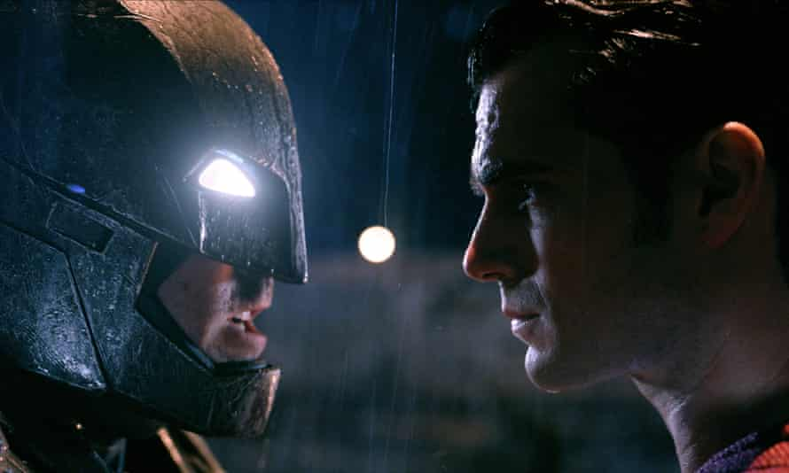 Ben Affleck and Henry Cavill in Batman v Superman.
