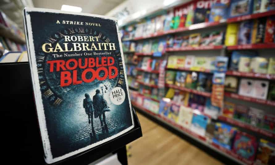JK Rowling's latest book Troubled Blood, written under pseudonym Robert Galbraith.