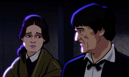The lighting and facial expressions in the animation are a step up from the BBC's previous Doctor Who releases.