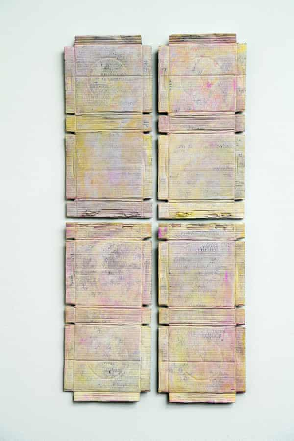 Untitled (Pink and Yellow), 2020–21.