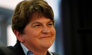 Arlene Foster, the DUP leader