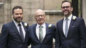 It was long assumed that Rupert Murdoch would hand 21st Century Fox to one of his sons, Lachlan and James.