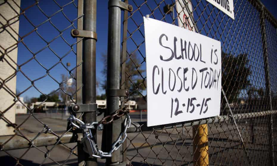 Birmingham Community Charter High School was closed as part of the total shutdown of LA schools on 15 December following a hoax bomb threat.