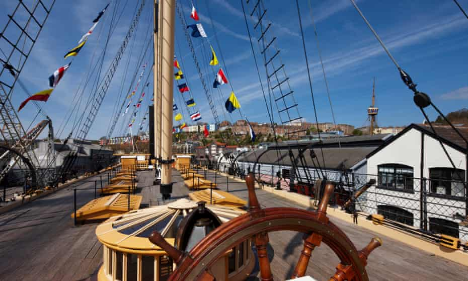 Ahoy there! The SS Great Britain, the first iron ship to cross the Atlantic.