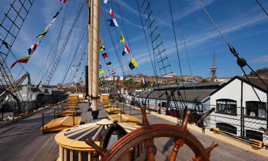 SS Great Britain in Bristol was among the new beneficiaries.