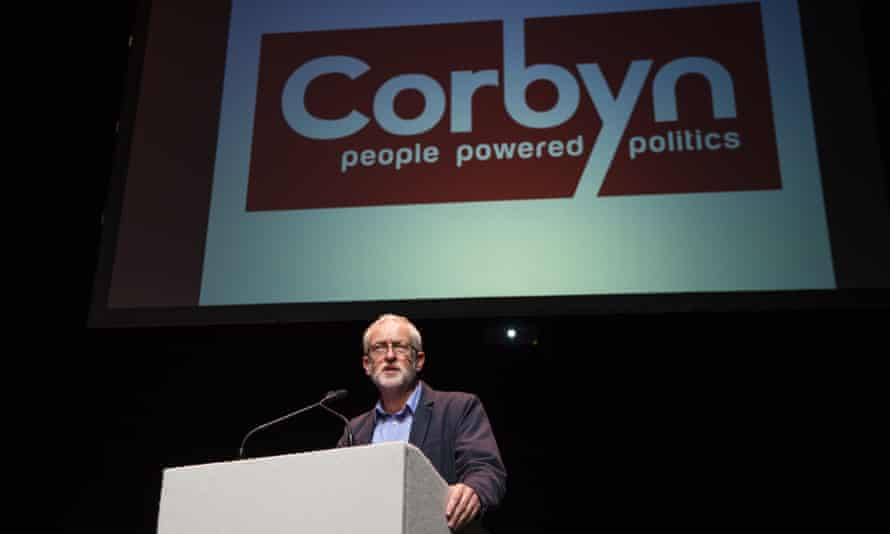 Jeremy Cobyn leadership rally in Salford