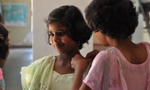 Children at Shanti Bhavan school in Tamil Nadu, in Daughters of Destiny.