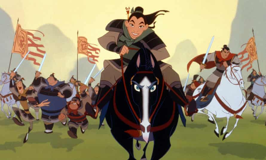 According to Pence, Mulan's romantic subplot proved straight men and women were unable to serve beside each other.