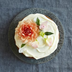 Tan's carrot cake. Photographs by Ola O Smit for the Guardian. Food styling: Sam Dixon. Prop styling: Anna Wilkins.