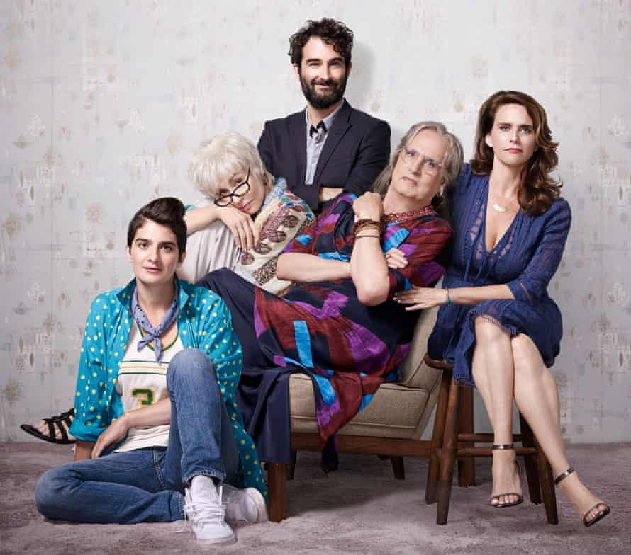 Life on screen: the cast of Transparent.