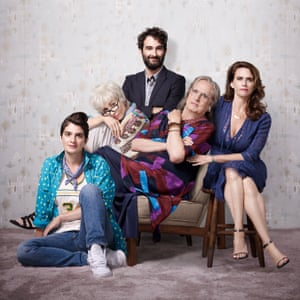 The cast of Transparent, season two.