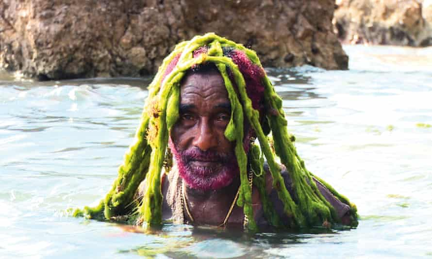 Lee 'Scratch' Perry … just chilling.