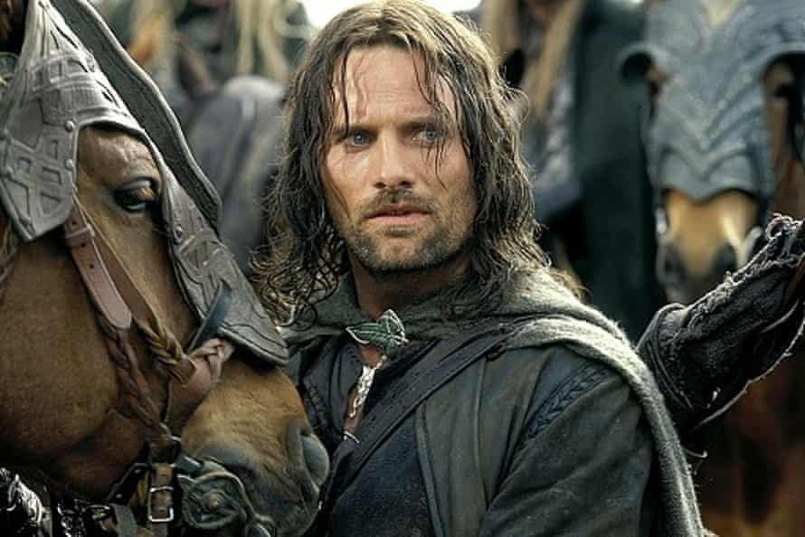 Viggo Mortensen bonded with his equine co-star on the set of Lord of the Rings.